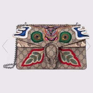 Gucci Dionysus Small Shoulder Supreme Handbag NWT